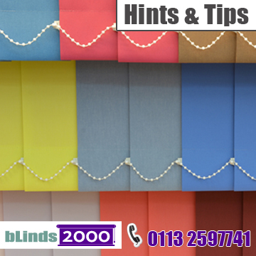 Hints and tips for buying vertical blinds