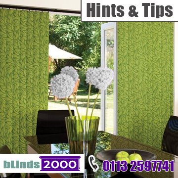 Hints and tips using blinds to design