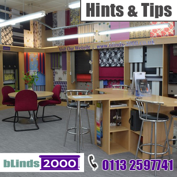 Hints and tips when buying blinds visit bLinds 2000