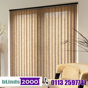 Vertical blinds from bLinds 2000