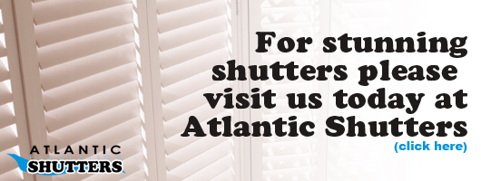 Visit Atlantic Shutters today