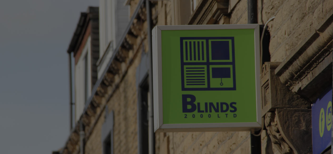 Blinds 2000 shop sign morley leeds