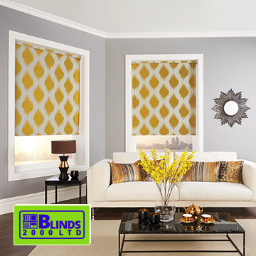 Roller blinds by Blinds 2000