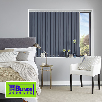 Vertical blinds by Blinds 2000